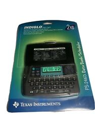 Texas Instruments TI PS-2460i INDIGLO DATA BANK Scheduler Calculator Alarm 2kb