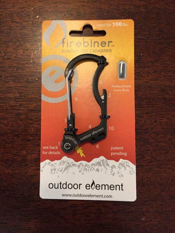 Outdoor Element Firebiner 1 Black
