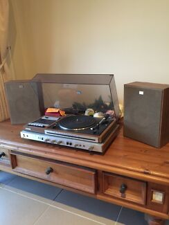 Sony record player and speakers Appin Wollondilly Area Preview