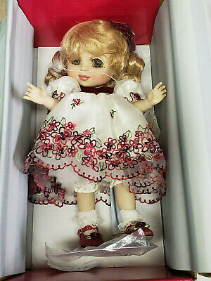 "Marie Osmond ""Adora Belle Holiday 2006"" Porcleian Doll - Limited 303 out 1500"