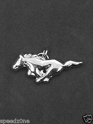 - FORD MUSTANG SILVER RUNNING HORSE CHARM