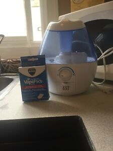 Humidifier and Vick's vapopads