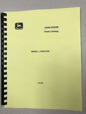 John Deere L Tractor Parts Manual - Free Shipping