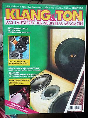 Klang&Ton Zeitschrift,1 Heft aus 95,96,97 siehe Liste