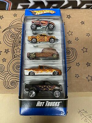 HOT WHEELS HOT TRUCKS 5-PACK Gift Set Die-Cast Cars - 2007