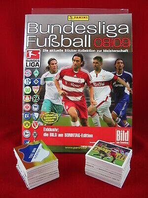 Panini Bundesliga 2008/2009 Satz komplett + Album = alle Sticker 08/09 Leeralbum