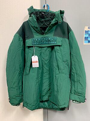 NAPA By Martine Rose Raindoo Napapijri L Oversized Coat Jacket - Green
