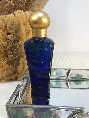 Caswell Massey Elixir of Love No 1 Cobalt Blue Bottle Cologne Spray 1995 1.7 Fl