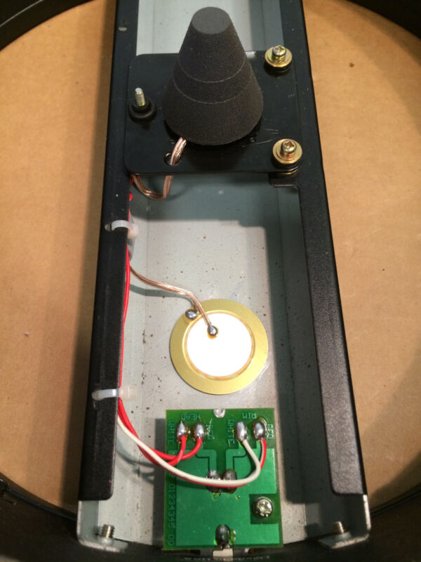 1x Piezo-Element ø12mm E-Drum-Trigger,Pickup,Resonanzkörper,Piezos,Sensor
