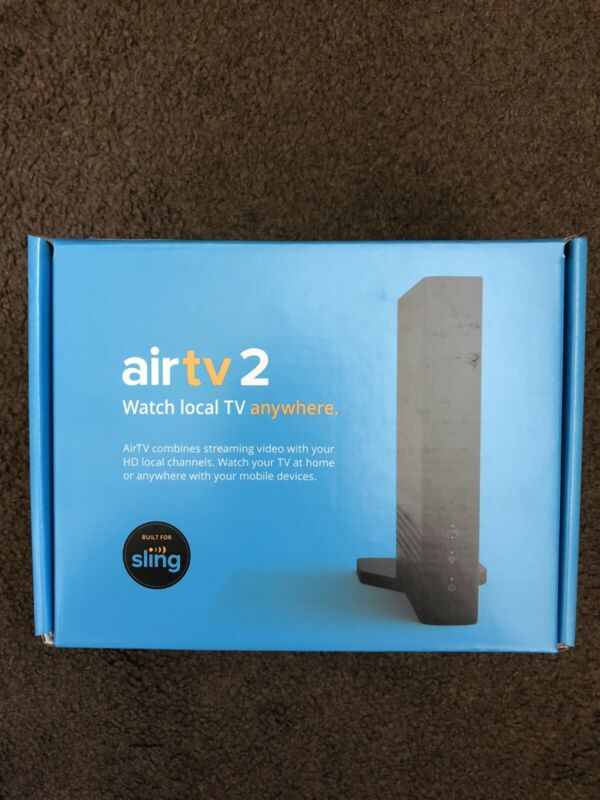 Sling AirTV 2 Tuner Local Channel Streaming Media Player