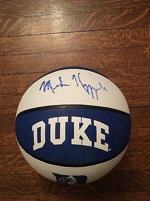 d4a2845c739 Mike Krzyzewski Autographed Basketball Coach K Duke Blue Devils
