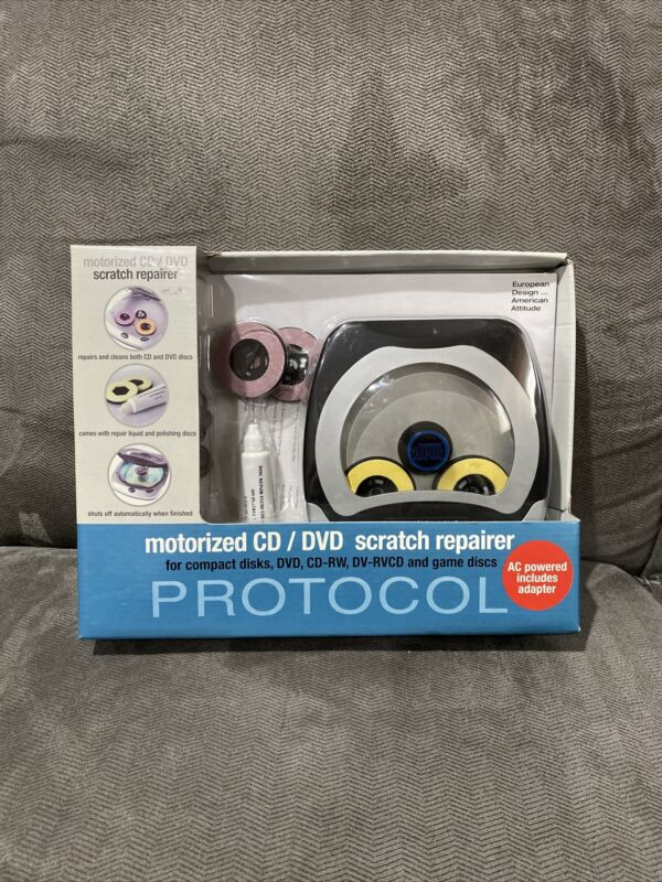 New Protocol Motorized CD/DVD/GAME DISCS Scratch Repairer A3