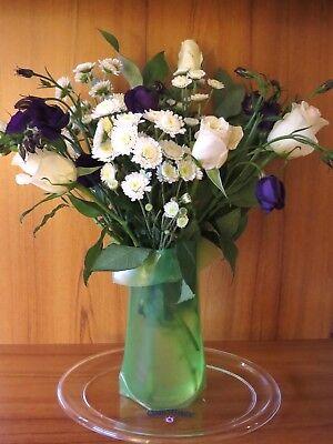 Wonder Vase, Travel Vase, Shapable Plastic Vase](Clear Plastic Vase)