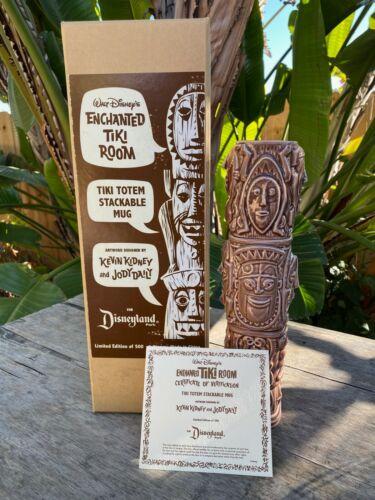 Disneyland Enchanted Tiki Room Totem Stackable Mug Disney Kidney Daily w/ Box