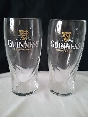 Guinness Beer Glasses - Guinness Irish Stout Brewed in Dublin