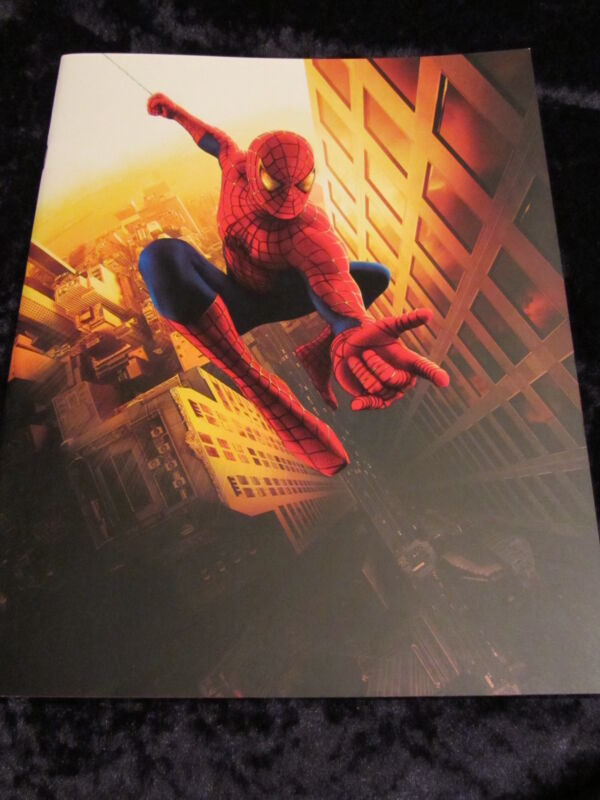 Spiderman 35 page french press book Tobey Maguire, Sam Raimi