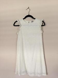 Zara Girls White Dress - Size 13-14 Greenway Tuggeranong Preview