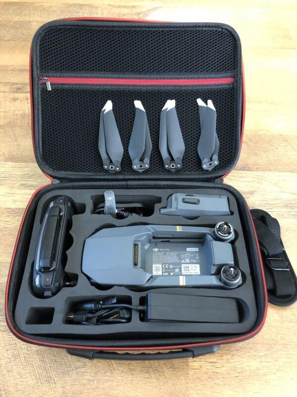 DJI Mavic Pro Collapsible Quadcopter Drone Bundle Excellent Condition!