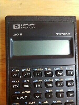 hp 20s scientific calculator