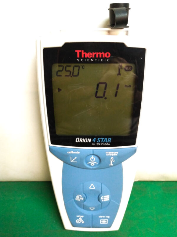 10568 Thermo Scientific Ph-ise Portable Meter Orion 4 Star