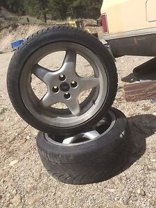 4 ABT Sportsline Rims with Tires