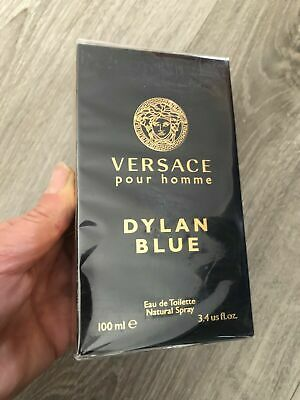 Versace Pour Homme Dylan Blue 100ml Men's Eau de Toilette Spray