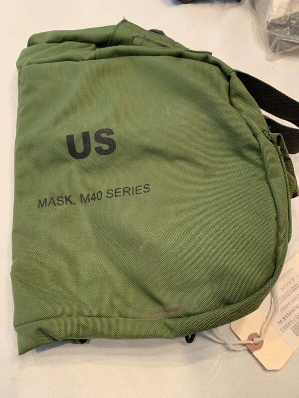 M40 M42 NBC Gas Mask Bag New Nylon