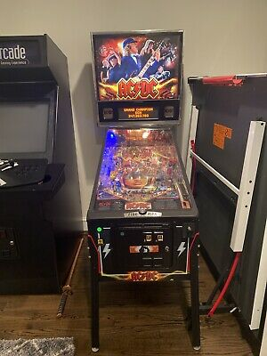 AC/DC Pinball Machine. Retro Stern Pinball Machine. Price Includes Moving Fees