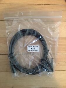 HDMI to DVI monitor cable(new in bag)