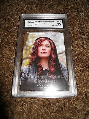 Mortal Instruments Character Insert Lena Headey #11 Graded 10