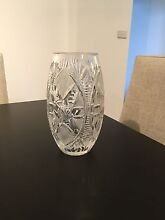 Detailed crystal vase Revesby Heights Bankstown Area Preview