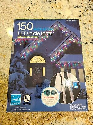 Christmas Lights Indoor/outdoor Icicle LED Qty. 2