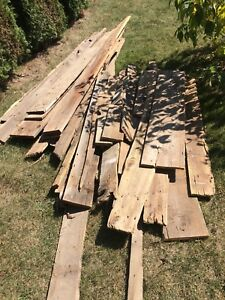 Barn Board clear out!  $75 for whole pile!