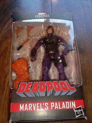 "Hasbro Marvel Legends Deadpool Series Paladin 6"" Action Figure, w/ Sasquatch BAF"