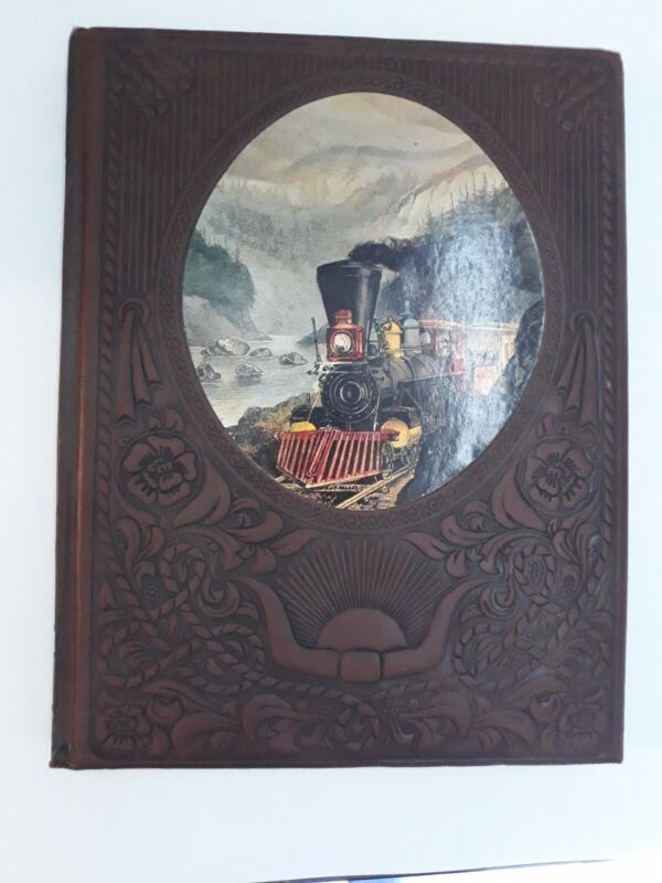 🌟 The Old West: The Railroaders (1973, Hardcover) TIME Life Leatherette (O3)