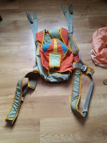 1990 USSR Parachute system TALKA harness container