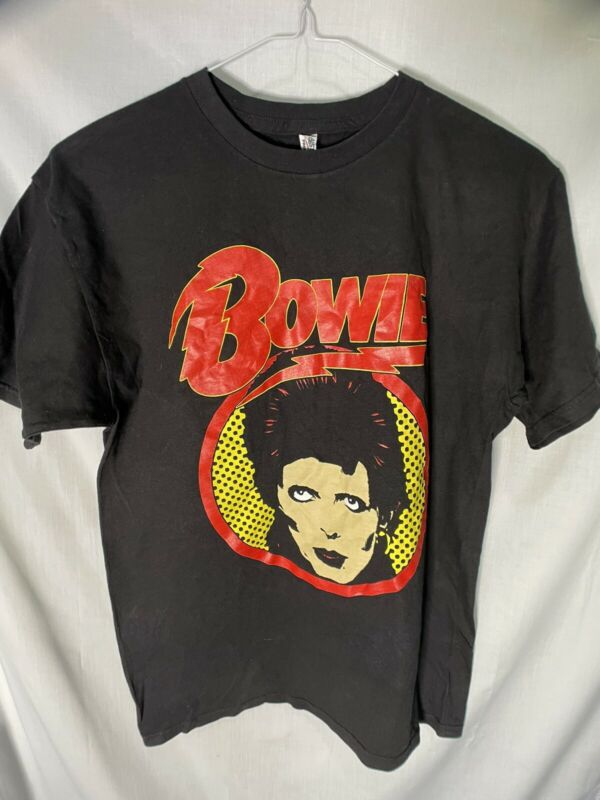David Bowie Shirt Size M