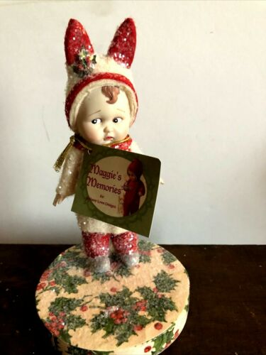 Maggie's Memories For Bethany Lowe Designs Girl Standing On Holy Top