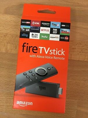 Amazon Fire Tv Stick w/Alexa Voice Remote Streaming 2nd Gen! BRAND NEW
