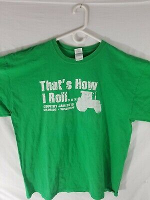 2010 COUNTRY JAM MUSIC FESTIVAL GRAND JUNCTION, CO T-Shirt Tee XXL