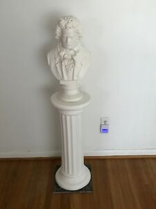 Beethoven bust with stand