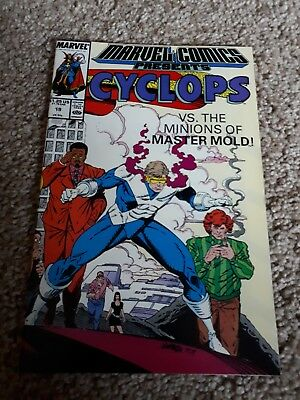 marvel comic presents #19 cyclops vs the minions of master mold fantastic condit