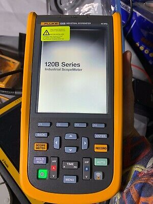 Fluke 125b S Kit Scopemeter Handheld Oscilloscope 40mhz Power Quality Bus Health