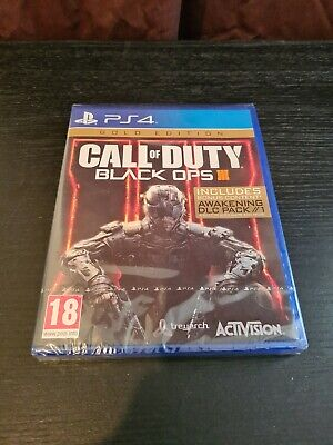 Call of Duty Black Ops 3 Gold Edition PS4 (PlayStation 4) NEW...