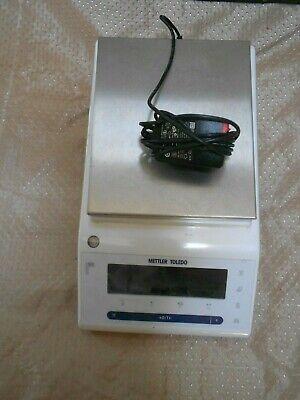 Mettler Toledo Ms802s Toploading Balance Scale W Power Adapter Excellent