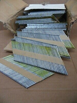 New 1000 Piece 3 14 X.131 Framing Nails Paper Strip Hot Dipped Smooth Shank