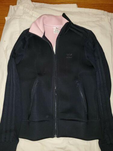 Adidas Firebird TT track jacket women navy blue & Pink linin
