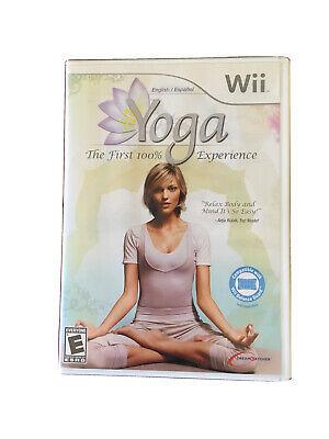 Yoga (Nintendo Wii or Wii U) GAME COMPLETE