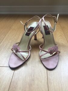 Pink Lady Floral Strappy Sandals