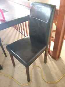 Brown Dining  Chairs Kings Langley Blacktown Area Preview